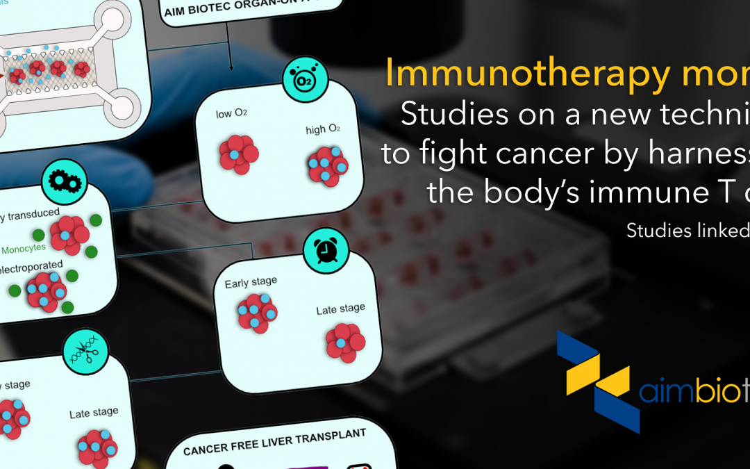 Developing a new adoptive T cell immunotherapy with AIM's organ-on-a-chip